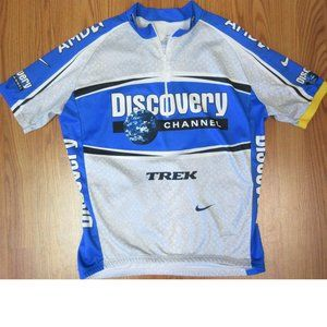 2005 NIKE DRI-FIT DISCOVERY CHANNEL 1/2 ZIP